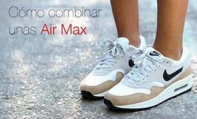 Combinar unas Air Max