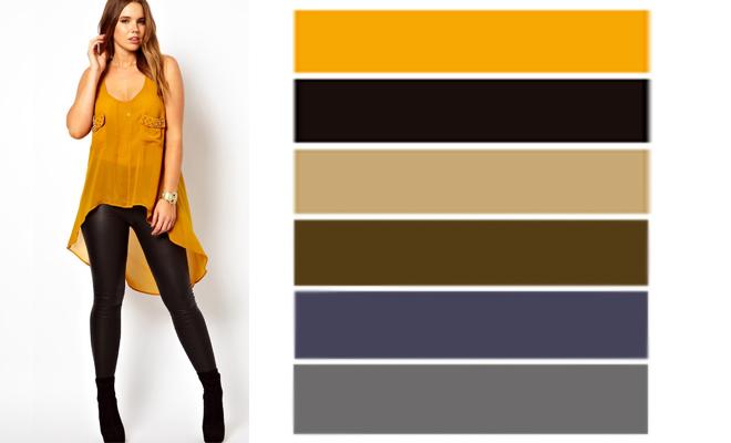 Cómo combinar prendas color mostaza 092970decefd
