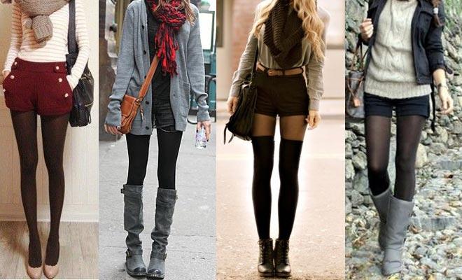 Shorts en otoño