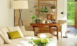 Diseño Interior - Salón Comedor natural