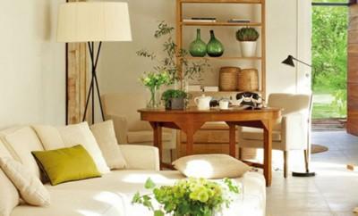 Decoraci n interior for Combinar colores decoracion salon