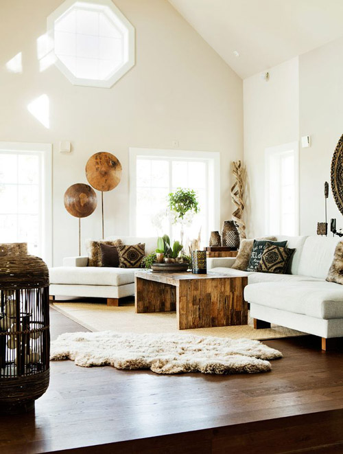 Consigue un sal n tnico en tu casa for Decoracion para el salon de casa