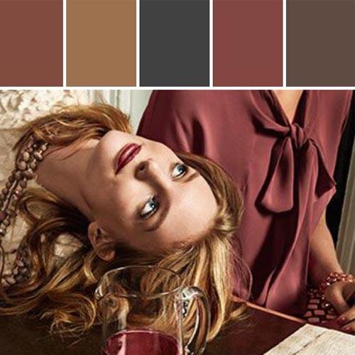 Color Marsala