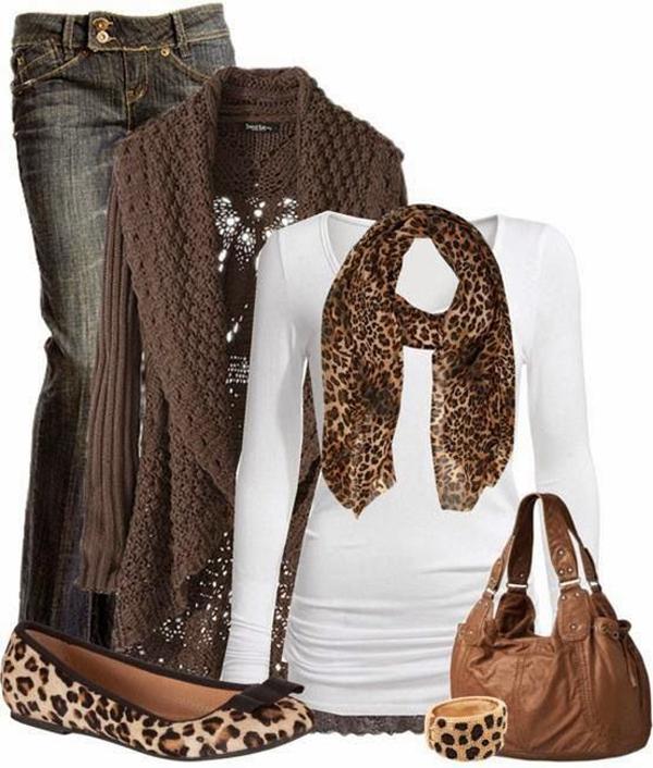 C mo combinar prendas color caf mira qu ideas - Como doblar jerseys para que ocupen poco ...