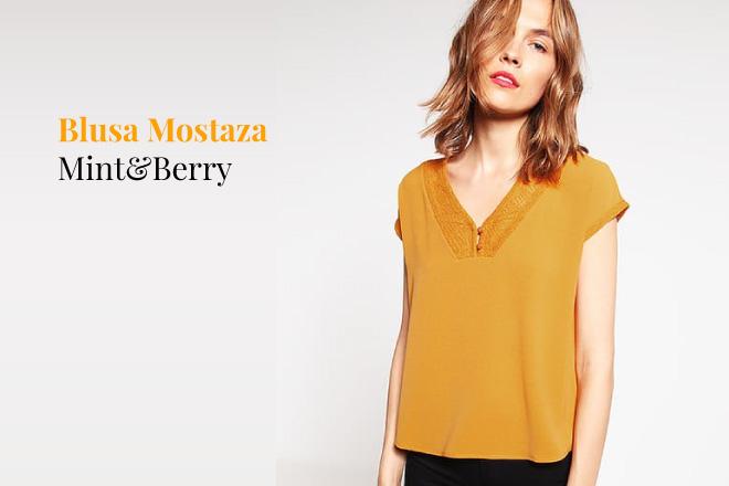 Blusa Mostaza - Cómo Combinar