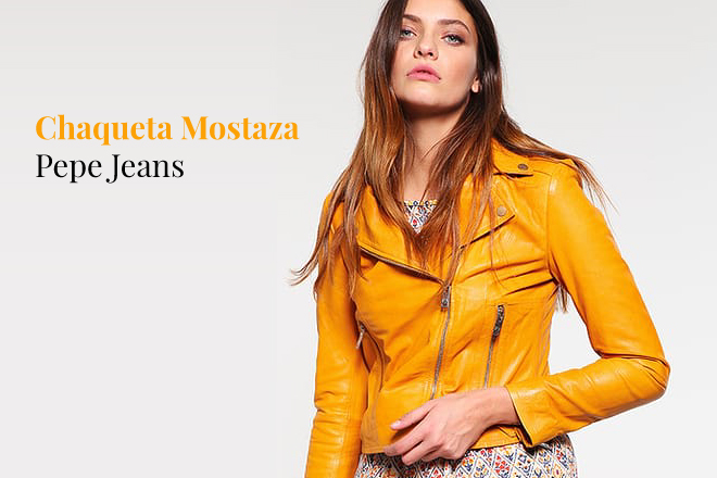 Chaqueta Mostaza - Cómo Combinar