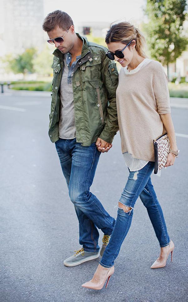 combinar con la pareja