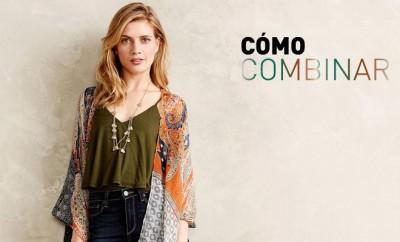 combinar un kimono