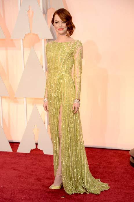 Emma Stone - Oscars 2015
