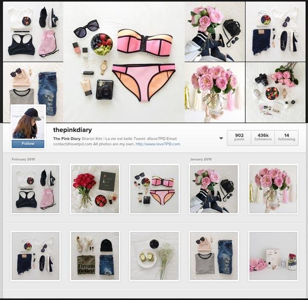 Moda en Instagram