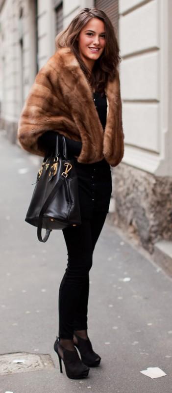 Street Style - Chaleco piel