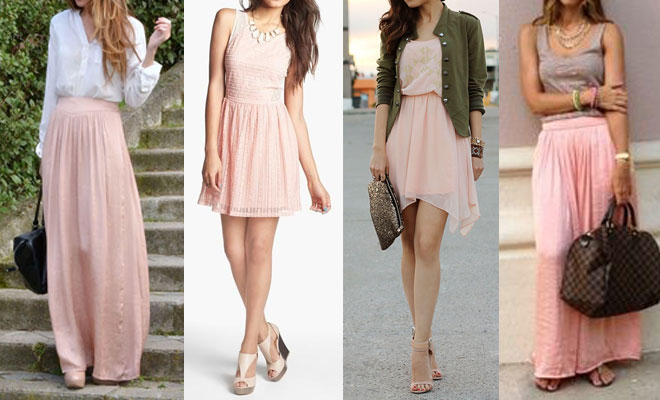 Viste el abril con rosa palo - Colores que combinan con rosa ...