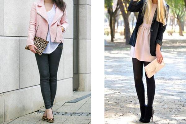 Combinar chaqueta rosa pastel