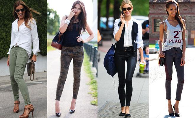 Pantalones pitillos