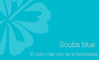 Cómo combinar el color Scuba Blue