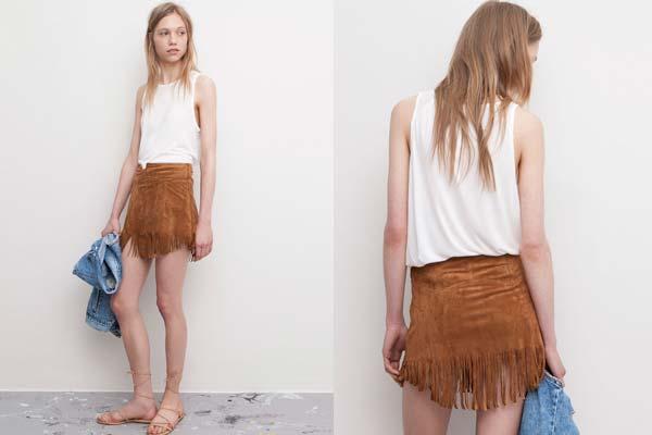 Faldas de temporada - Cómo combinar