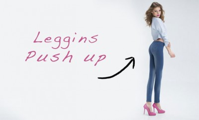 Look con leggins push up