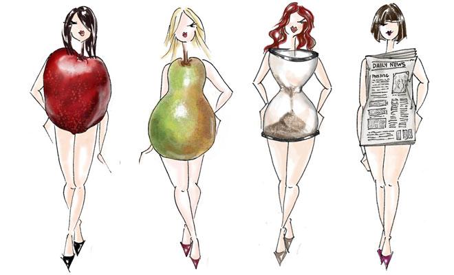 Elegir vestido según tu cuerpo