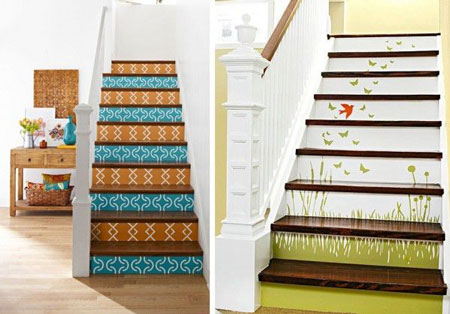 Casa con escaleras - Decoración