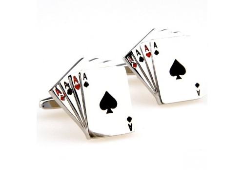 Gemelos de camisa - poker