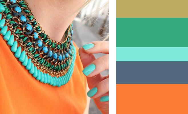 Como combinar los colores tendencia primavera verano - Colores que combinan con wengue ...