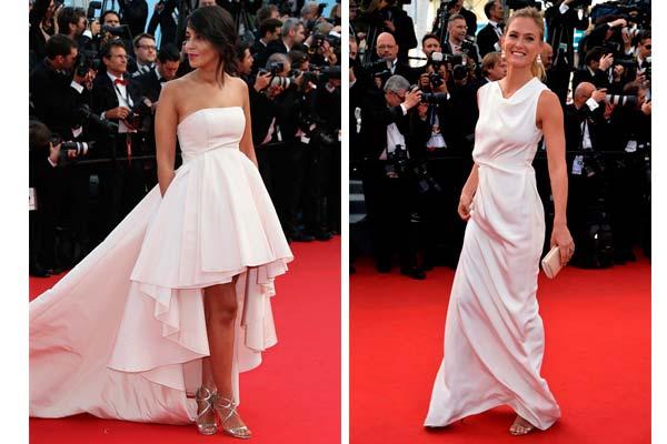 vestidos de la ceremonia de apertura de Cannes