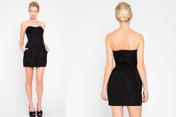 Boda de dia vestido corto negro
