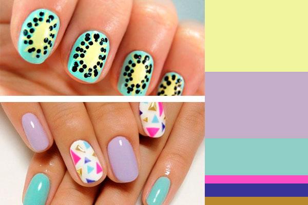 Uñas en verano - Los colores que se llevan este 2015