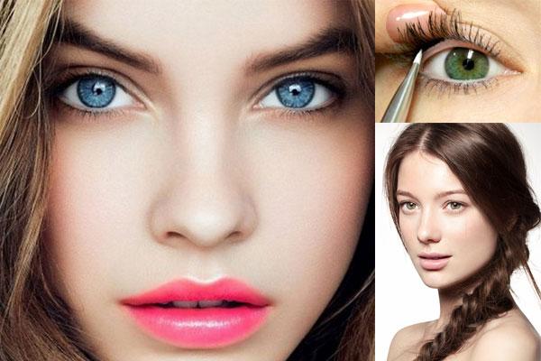 Maquillaje de verano transparente