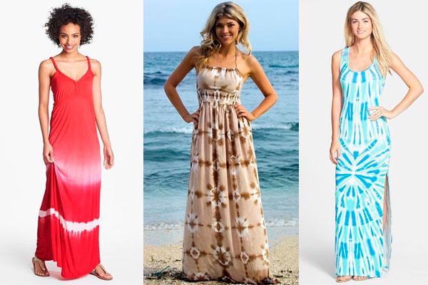 Vestidos largos para el verano playa