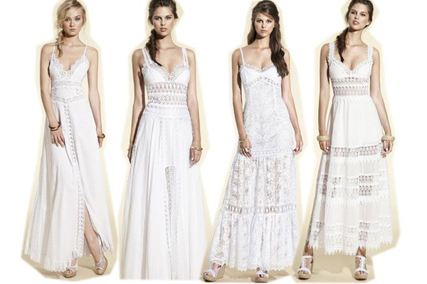 Looks con vestidos ibicencos