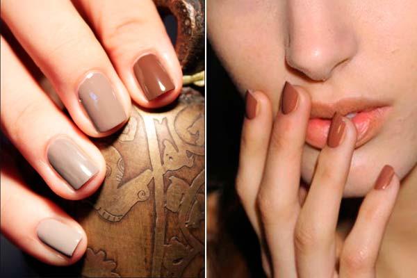 uñas-de-otoño-color-marrón