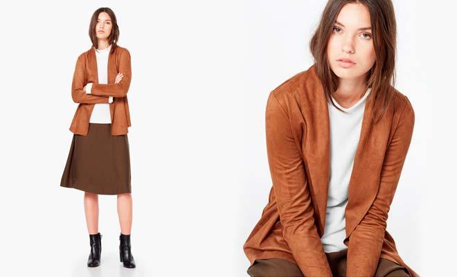 C mo combinar prendas color marr n en oto o for Colores que combinan con marron