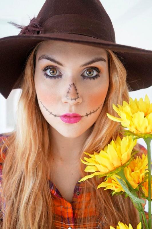 Halloween maquillaje