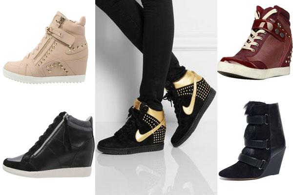 Modelos de sneakers en invienro