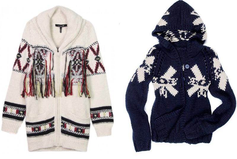 chaqueta alpina lana