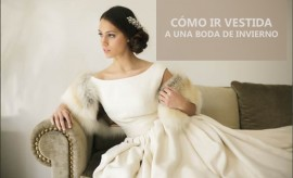 vestidos boda invierno