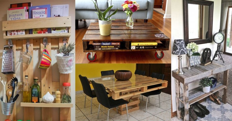 Ideas para decorar tu casa con palets
