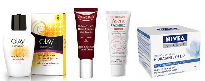 crema facial con filtro solar