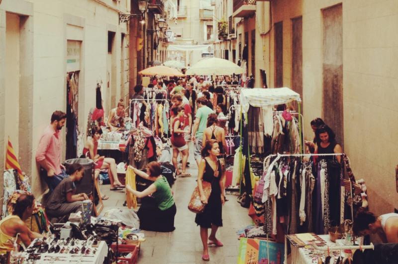 Mercadillos de segunda mano en barcelona - Taburetes segunda mano barcelona ...