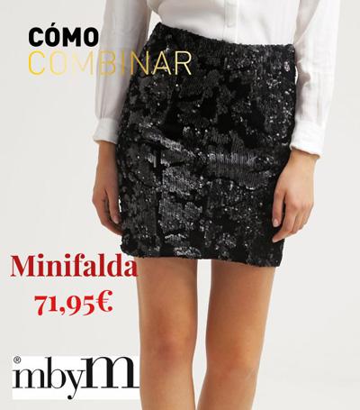 Minifalda para fin de año