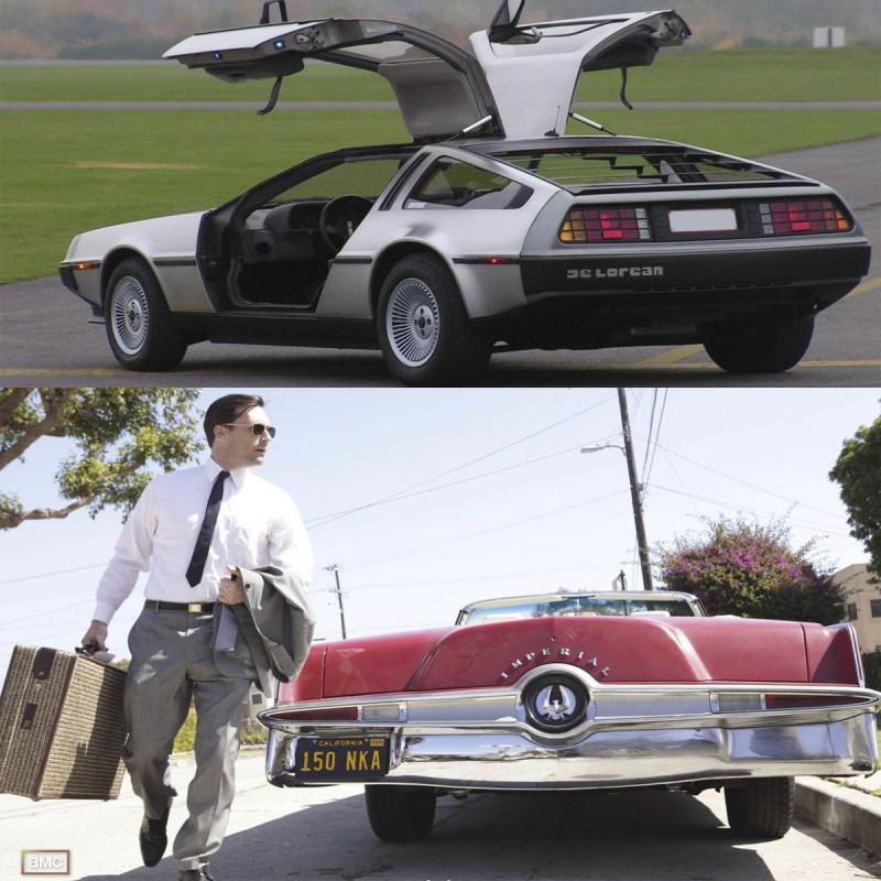coches de películas y series