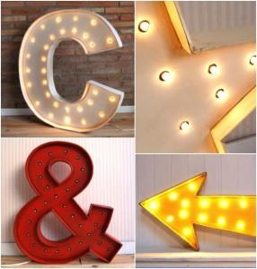 Decora tu casa con letras luminosas - Letras luminosas decoracion ...