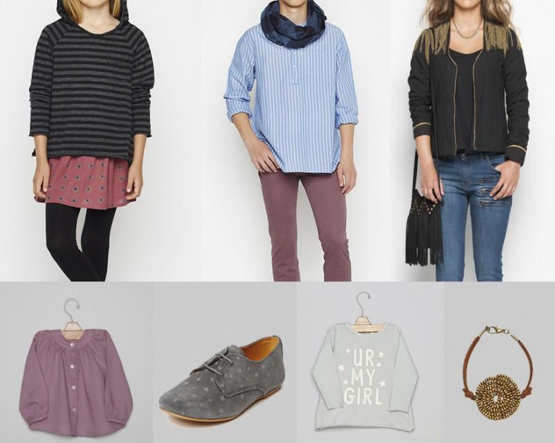 moda de ropa infantil y juvenil
