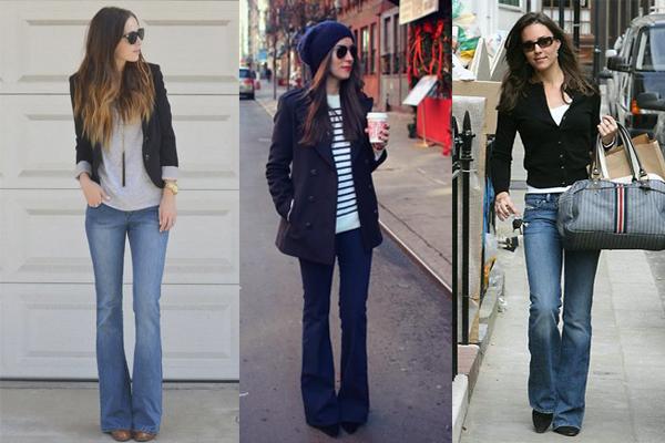 tipos de jeans y pantalones