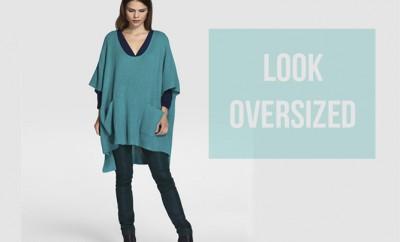 cómo combinar prendas oversized