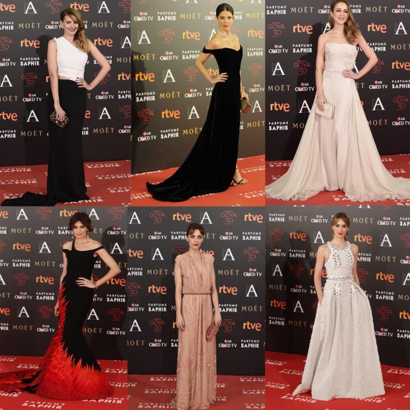 vestidos goya 2016