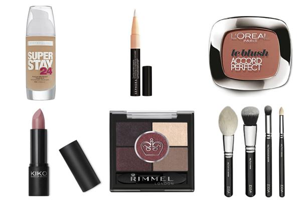 maquillaje esencial para viajar