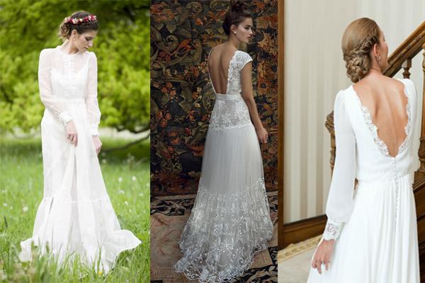Vestidos de novia primavera-verano 2016