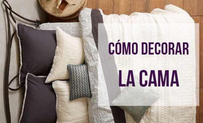 C mo decorar la cama Decorar una cama